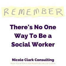 Become A Social Worker Theres No One Way To Be A Social Worker Nicole Clark