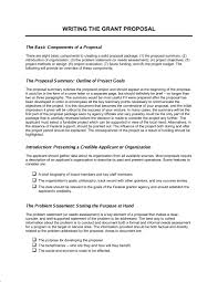 Writing The Grant Proposal Template Word Pdf By
