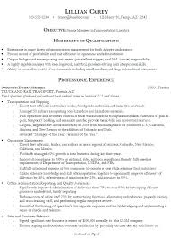 resume examples qualifications and skills samples of good resume