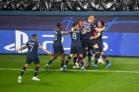 90PLUS | JOIE - FAIR PLAY - EQUIPE DE FOOTBALL DU PSG FOOTBALL : Paris SG  vs Manchester City - Ligue des Champions - 28/04/2021 A | Fussball  international – seriös & kompakt