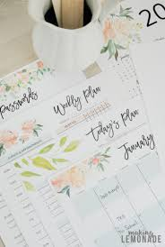 monthly day planner template get your free 2018 printable planner with daily weekly monthly