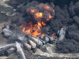 Resultado de imagem para Lac- Mégantic rail disaster,
