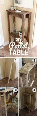 easy diy furniture projects. Check Out This Easy Idea On How To Build A #DIY #pallet Table For Diy Furniture Projects Y