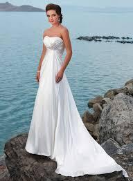 Strapless Beach Wedding Dresses Ideal Weddings