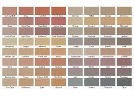 Solomon Concrete Color Chart Solomon Concrete Color Chart New Solomon Concrete Colors