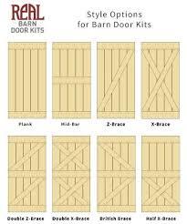 barn door kits style options all jpg