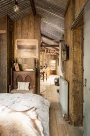 Rustic and romantic, Firefly cabin has the timeworn patina and rough charm  of an old