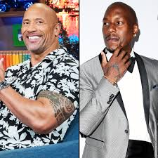 dwayne the rock johnson tyrese gibson feud