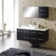 Modern Bathroom Vanity Bathroom Black Floating Modern Bathroom Vanity With Drawers