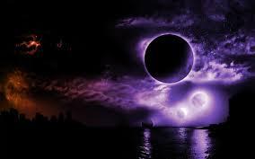 Dark Moon HD wallpaper