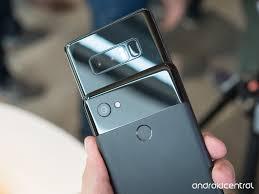 Pixel 2 Price Chart Google Pixel 2 Xl Vs Samsung Galaxy Note 8 Big Phones Big