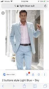 Light Blue Tuxedo Prom Pin By Kaci Mills On Eli Prom Blue Suit Men Light Blue