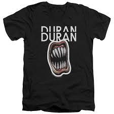Duran Duran Mens Pressure Off V Neck T Shirt