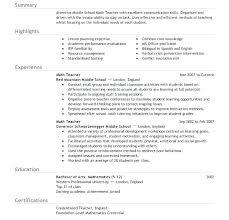Sample Resume Template Word Teacher Resume Template Word Teacher