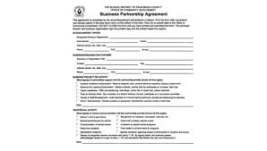 Partnership Agreement Between Companies Free 9 Partnership Agreement Samples In Word Pdf