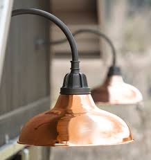 carson gooseneck wall mount light fixtures and copper outdoor lighting sconces carson fixturecopper lightinique lightingindustrial lightin