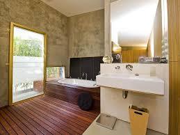 modern bathroom furniture. Wood \u0026 Concrete Oasis Modern Bathroom Furniture