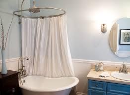 shower curtain ideas. Clawfoot Tub Shower Curtain Ideas Bathroom Eclectic Solution Vintage Curtains . Rod R