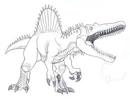 Small Picture 22 Spinosaurus Coloring Page Spinosaurus Coloring Pages Dinosaurs