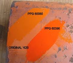 Kubota Paint Chart Ppg Paint Code For Allis Chalmers Yesterdays Tractors