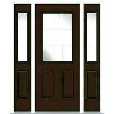 front door with window door with glass window front door with glass window front door side