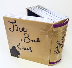 the book thief trinity schools book award tsba bookthief diorama cover tsba bookthief diorama back