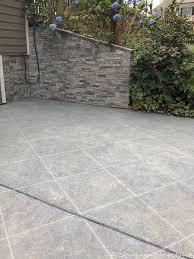 paint a concrete slab