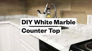 Kitchen marble top Countertops Transform Your Kitchen For 20 Diy White Marble Countertop Ebay Transform Your Kitchen For 20 Diy White Marble Countertop Youtube