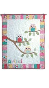 do you know the name of this owl baby quilt pattern