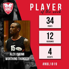 Well done to Alex Owumi on winning The... - Worthing Thunder   Facebook