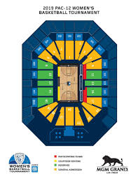 Stanford Basketball Seating Chart 2019 Pac 12 Womens Basketball Tournament Tickets Info Pac 12
