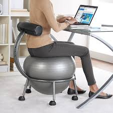 exercise ball for office chair attractive balance yoga 4 reasons use inside with 7