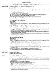 Primary Care Physician Resume Samples Velvet Jobs