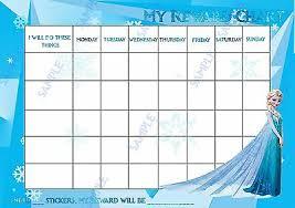 Elsa Potty Training Chart Reusable Disney Elsa Frozen Potty Training Reward Chart