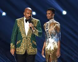 Miss South Africa crowned 2019 Miss Universe; Host Steve Harvey ...