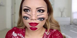 double vision makeup by promise phan business insider mice phan makeup makeup tutorial tutorial egyptian eye makeup great gatsby