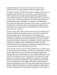Leadership Essay Example Template Business