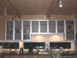 large glass cabinet doors
