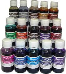Daytone Fountain Pen Ink 60 Ml 15 Pc Assorted Pack Of 15 Colors