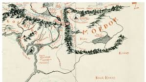 the book containing the map belonged to ilrator pauline baynes who drew much of the famous maps of both tolkien s middle earth and cs lewis narnia