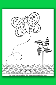 Design of colorful butterfly material. Butterfly Coloring Pages Life Is Sweeter By Design