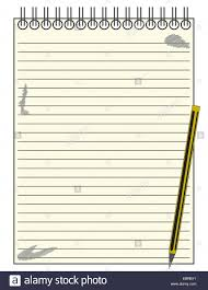 Notepad Template A Lined Reporters Blank Notepad Template Or Background With A