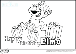 Happy Birthday Color Coloring Pages For Birthday Cards Happy
