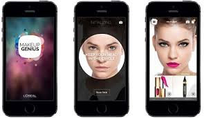 this free app allows you to try on l oreal makeup s before you them without having to go into the simply by using the front facing camera