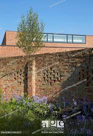 detail of old garden wall britten