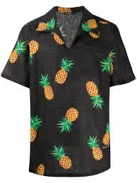<b>Dolce</b> & <b>Gabbana Pineapple</b>-Print Short-Sleeve Shirt Ss20 | Farfetch ...