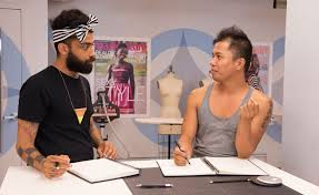 Project runway gay couple