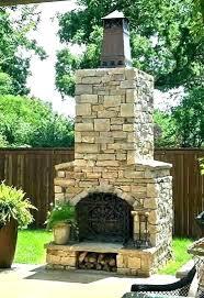 modular outdoor fireplace fireplaces s