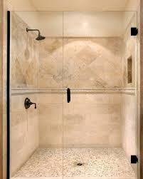 Travertine Bathroom Designs Custom Decor Shower Tile Designs Shower Tiles