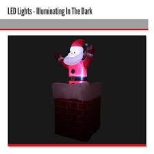 Light Up Pop Up Santa 6 Ft Telescoping Santa